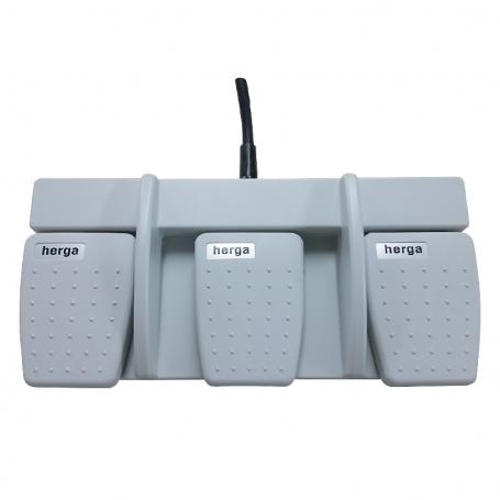 6226-0026 / Interruptor de pedal MULTIPEDAL - de 3 pedales (Clasificación IPX8)