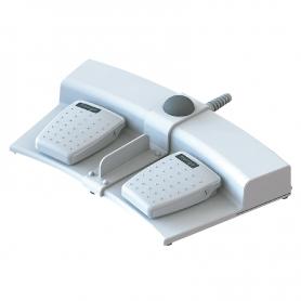 MD2G-BAA-BA1-EZZ-000 / Interruptor de pedal MULTIPEDAL (6226-0071) y disco háptico de doble pedal (Clasificación IPX7)