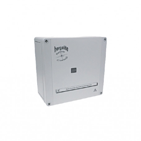 6311-1115-1500 / Control remoto infrarrojo: 1 canal con receptor integral. Suministro 12V DC/9V AC