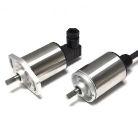 P500 /  Sensor de posición giratorio - Transformadores diferenciales variables rotativos (Ángulo requerido entre 16° y 160°)