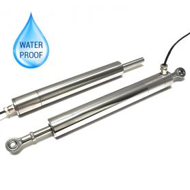 G115 / Sensor de posición lineal autónomo resistente sumergible (Recorrido eléctrico de 0-5 mm a 0-800 mm)