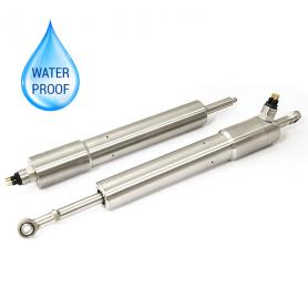 G125 / Sensor de posición lineal autónomo resistente sumergible (Recorrido eléctrico de 0-5 mm a 0-800)