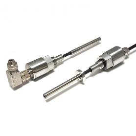 H100 / Sensor de posición lineal en cilindro (Recorrido eléctrico de 0-5 mm a 0-800 mm)