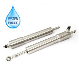 H125 / Sensor de posición lineal autónomo resistente sumergible (Recorrido eléctrico de 0-5 mm a 0-800 mm)