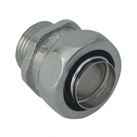 5010.339.025 / Prensaestopas completo US-M (latón niquelado) - Diám. Ext. Ø 27 mm / M25x1.5