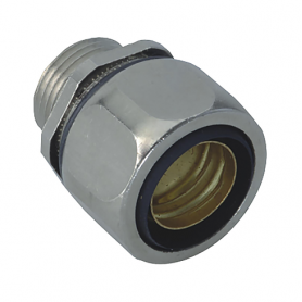 5015.328.016 / Conectores para conductos USD-M completos EMC (latón niquelado) SPR / FLEXAgraff - Diám. Ext. Ø 17 mm / M16x1.5