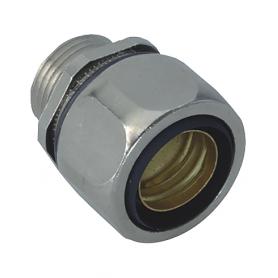 5015.340.025 / Conectores para conductos USD-M completos EMC (latón niquelado) SPR / FLEXAgraff - Diám. Ext. Ø 27 mm / M25x1.5