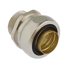5011.335.020 / Conectores para conductos US-M completos EMC (latón niquelado) SPR / FLEXAgraff - Diám. Ext. Ø 21 mm / M20x1.5
