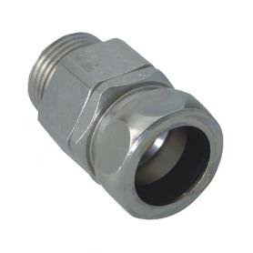 2100.40.36.02 / Conectores para conducto giratorios (latón niquelado) - Diám. Ext. Ø 36 mm / M40x1.5