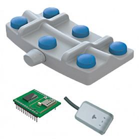 6241 / Transmisor Inalámbrico: Interruptor de pedal con tecnología Bluetooth (Clasificación IPX7)
