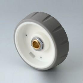 B7146634 / CONTROL-KNOBS 46 - PC - volcano - 46x14,7mm - Orificio de eje 1/4″