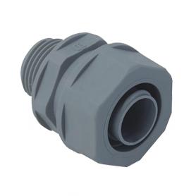 5020.330.025 / Conectores para conducto recto sintético Airflex - Diam. Ext. 27 mm / M25x1.5