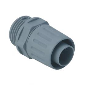 5020.014.020 / Conectores giratorios para conductos sintéticos Airflex - Diam. Ext. 17 mm / M20x1.5