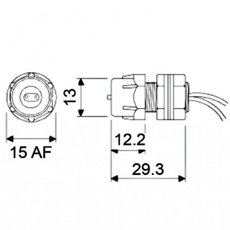 6419-0010 / Bulkhead connectors