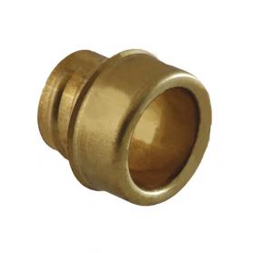 5031.028.016 / Buje estabilizador de latón para prensaestopas de conducto Diám. Tubo: Ext. 21 mm / Int. 17.0 mm]