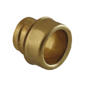 5031.037.011 / Buje estabilizador de latón para prensaestopas de conducto Diám. Tubo: Ext. 17 mm / Int. 12 mm]