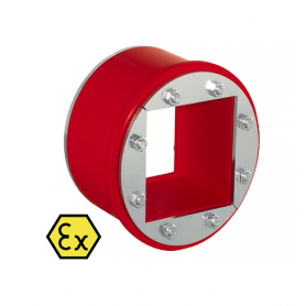 R05060X / Tapón obturador RR-EX (CFS-T RR-EX) varios cables, galvanizado - Diám. Ext: 56 mm / Prof. Ext: 72 / Prof. Int.: 60 mm