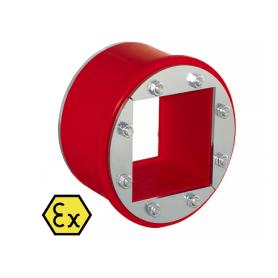 R090X / Tapón obturador RR-EX (CFS-T RR-EX) varios cables, galvanizado - Diám. Ext: 100 mm / Prof. Ext: 84 / Prof. Int.: 60 mm