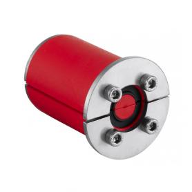 RS07023511 / Junta de enchufe RRS (CFS-T RRS) 1 cable con núcleo, Acero Inox.-Diám.Ext: 80mm / Prof.Ext: 75 / Prof. Int: 60mm