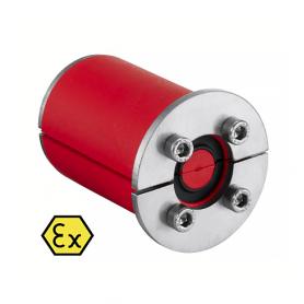 RS0501333X / Junta enchufe RRS-EX (CFS-T RRS-EX) 1 cable con núcleo, galvanizado - Diám.Ext: 60mm | Prof.Ext: 75 / Int: 60 mm