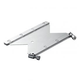 T2415F / Placa de anclaje CFS-T AP con fijación, galvanizada _x000D_ - An 120 mm / Prof. 60 mm