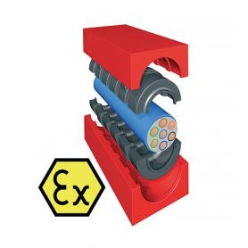 QF10300X / Módulo TCMS-EX Quick-Fix con núcleo (Módulos CFS-T Quick-Fix STRF) - Al 30 mm / An 30 mm / Diam. 0+13-23 mm
