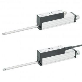 LS1 - Muelle de retorno / Sensor de posición lineal (Hasta 100mm de carrera) Voltaje y salida de corriente