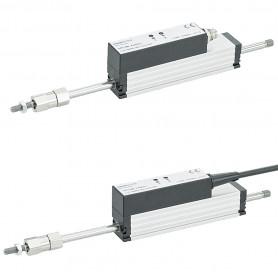 LS1 / Sensor de posición lineal (Hasta 200mm de carrera) Voltaje y salida de corriente
