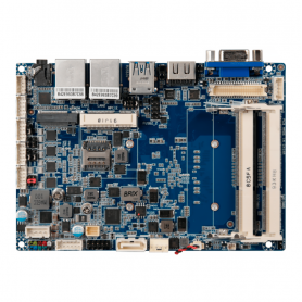 """QBiP-E3940AT /  3.5"""" SubCompact Wide Temperature Embedded Motherboard with Intel® Atom® x5-E3940 Processor"""