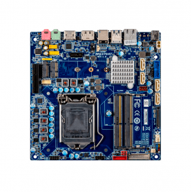 iTXL-Q370A / Thin Mini-ITX with Intel® Q370 Chipset and support for 9th/8th Generation Intel® Core™ Processors