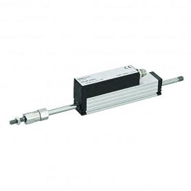 TE1 - con resorte de retorno / Transductor de posición lineal (100 mm de carrera máxima)