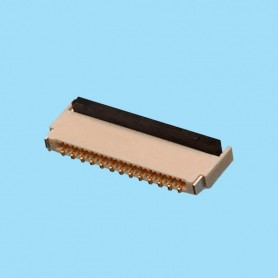 "0302 / Conector acodado cinta flexible SMD - Paso 0.30 mm (0.012"")"