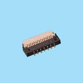 "0303 / Conector acodado cinta flexible SMD - Paso 0.30mm (0.012"")"