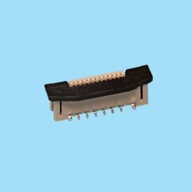 "0514 / Conector recto cinta flexible - Paso 0.50 mm (0.020"")"