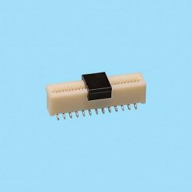 """0536 / Conector recto para cinta flexible SMD - Paso 0.50 mm (0.020"""")"""