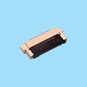 "0531 / Conector acodado para cinta flexible SMD - Paso 0.50 mm (0.020"")"