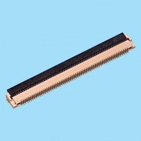 "0529 / Conector acodado para cinta flexible SMD - Paso 0.50 mm (0.020"")"