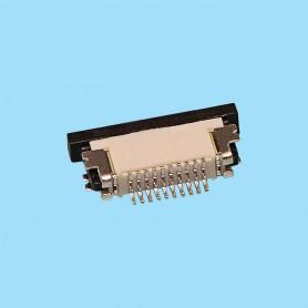 "0515 / Conector acodado cinta flexible SMD - Paso 0.50 mm (0.020"")"