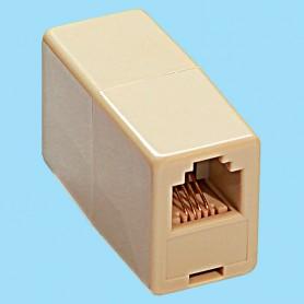 6911 / Prolongador telefónico - Conexión hembra-hembra