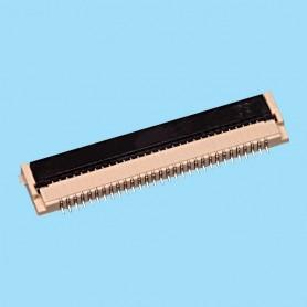 "0811 / Conector acodado para cinta flexible SMD - Paso 0.80 mm (0.032"")"