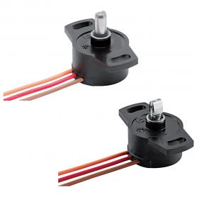 SP2800 / Sensor de posición rotativa 345 ° (Varias opciones de eje)