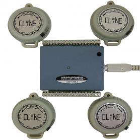 PC-AMS / Inclinómetros compactos: Sistema de Medición Angular con Ordenador