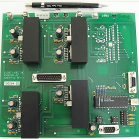 PN 100084-02 / Inclinómetros compactos: Controlador y controlador RS232 de 3 ejes - 3 amperios