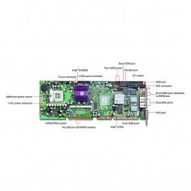 ROBO-8718VG2A / Tarjeta CPU industrial PICMG 1.0