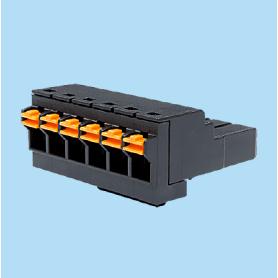 BC015020 / Plug - socket pluggable anti-vibration - 5.08 / 6.35 / 7.50 mm