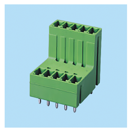 BCEECH381V / Headers for pluggable terminal block - 3.81 mm