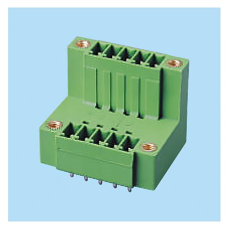 BCEECH381VM / Headers for pluggable terminal block - 3.81 mm