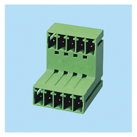 BCEECH381R / Headers for pluggable terminal block - 3.81 mm
