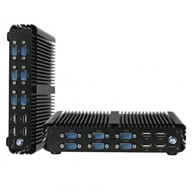OEM-C000xx/00 / Sistema embebido fanless. Intel Core i3-6100U Dual Core 2.3G
