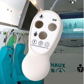 Blob / Control remoto HAUX Patient Entertainment